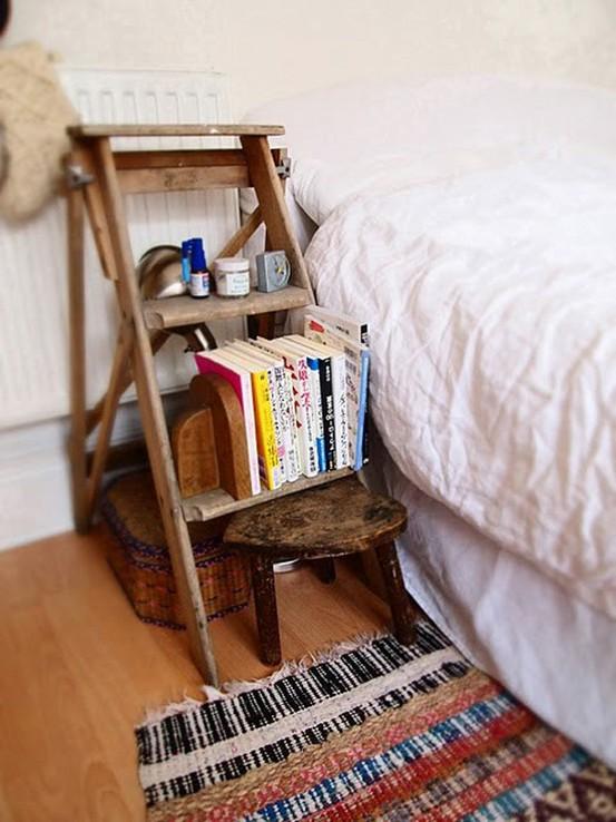 Bedside Table Ideas Pinterest